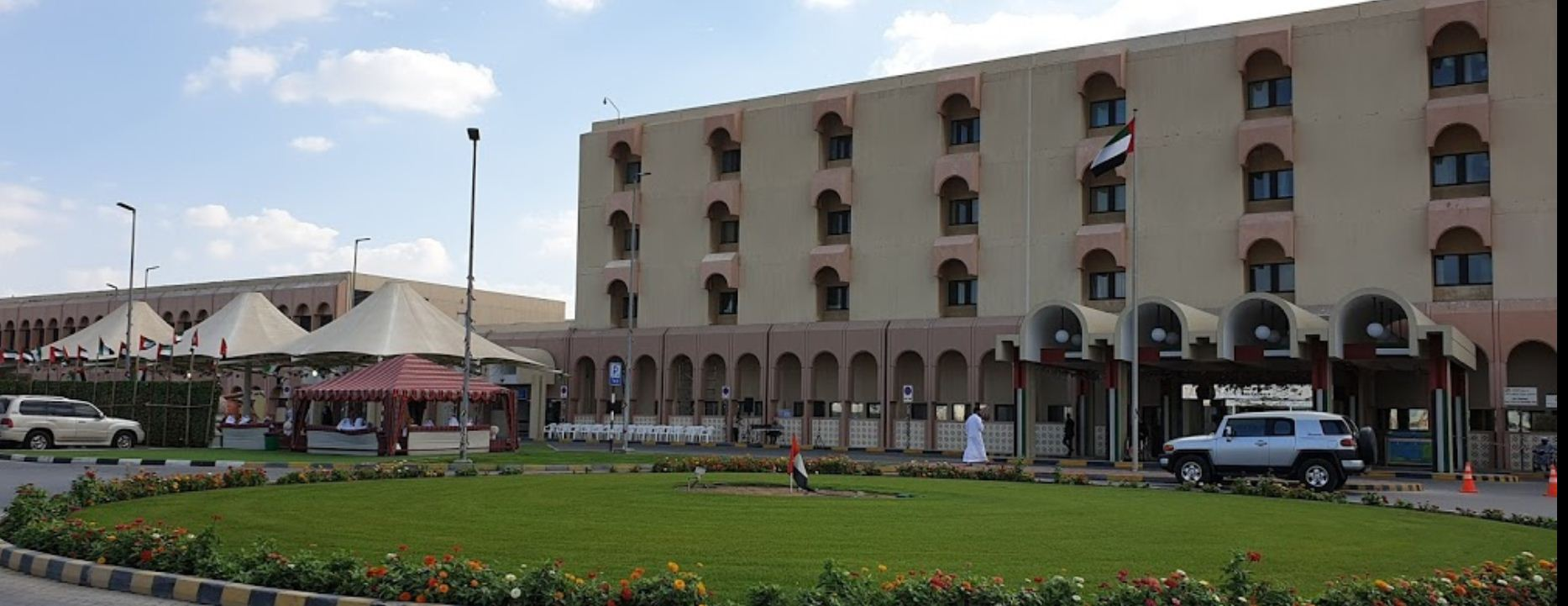 Al Qassimi Hospital in Al Khezammia Area